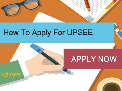 How to apply for UPSEE 2017 - Step by Step Demo