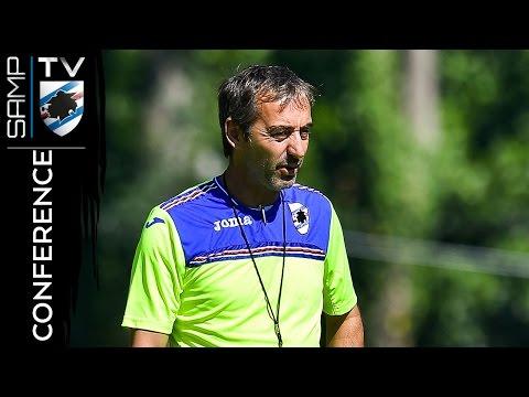 Cagliari-Sampdoria: la conferenza di Giampaolo