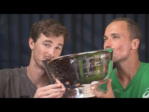 Murray and Soares Discuss US Open 2016 Triumph