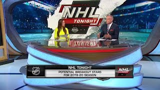 NHL Tonight:  Breakout stars:  Which players are going to break out in 201920?   Aug 16,  2019