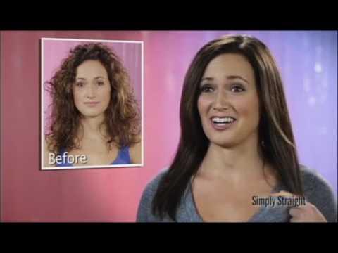 Simply Straight™ Hair Straightening Brush