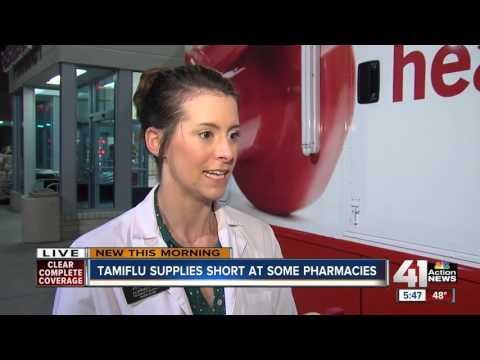Tamiflu supplies short at some pharmacies