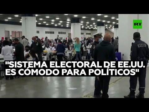 Politólogo: «EE.UU. no cambia su sistema electoral porque el 'establishment' se siente cómodo»