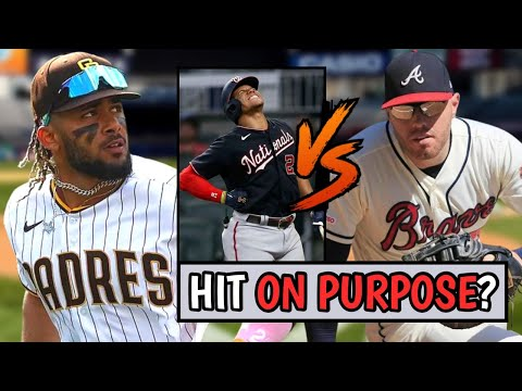 Braves Hit Juan Soto ON PURPOSE!? Freddie Freeman Responds! Fernando Tatis Jr Outfield (MLB Recap)