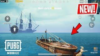 PUBG MOBILE UPDATE 0.14.0! Pirate Theme, Golden Compass location , New Boat & more!