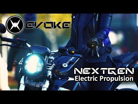 Evoke Motorcycles - Next Gen Electric Propulsion