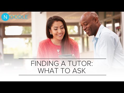Find a Great Tutor: What Questions Should You Ask? | Noodle