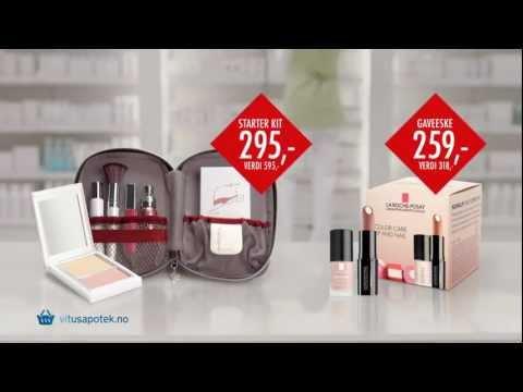 Vitusapotek Makeup Fedora Minerals og La Roche Posay 31 12 12