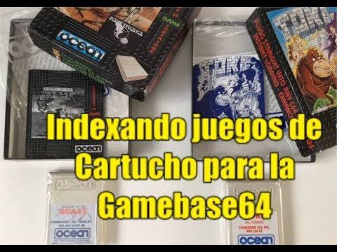 Commodore 64 Real 50Hz - Indexando juegos de Cartucho para la Gamebase64 (Letra D)