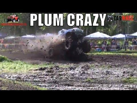 PLUM CRAZY Big Air Wild Run At Perkins Summer Sling Mud Bog 2018