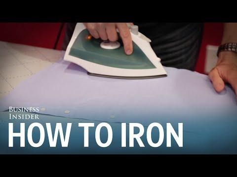 How to iron a dress shirt - UCcyq283he07B7_KUX07mmtA