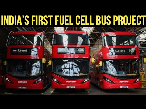 India's First Hydrogen Fuel Cell Electric Bus Project - Leh & Delhi