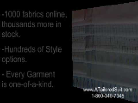 How to Create Custom Clothing Online - A Tailored Suit