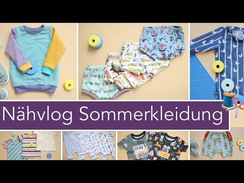Vlog: Ich nähe die komplette Sommergarderobe für den Kleinen selbst!