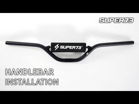 SUPER73 Tutorial: Handlebar Installation
