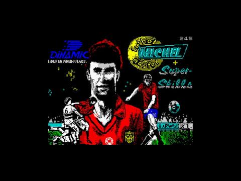 Clásicos del Spectrum: Michel Futbol Master (Dinamic)