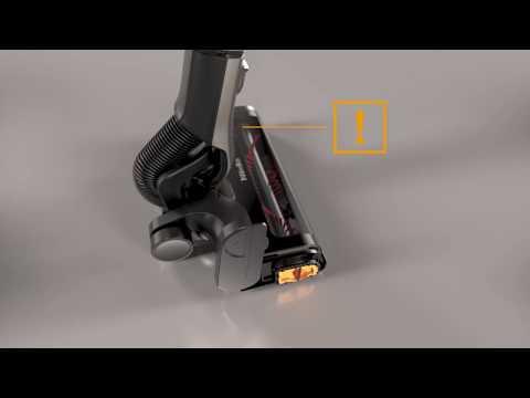 Rengöring av elektroborsten  – Miele Triflex