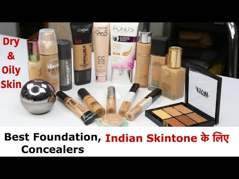 Best Foundations, Concealers for Dry/Oily Skin in Indian Skin Tone - UC0iiPDABxXax-0CstSKHEhw