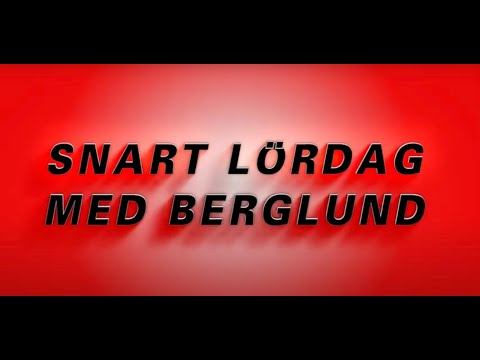 V75 Örebro | Snart lördag, med Berglund