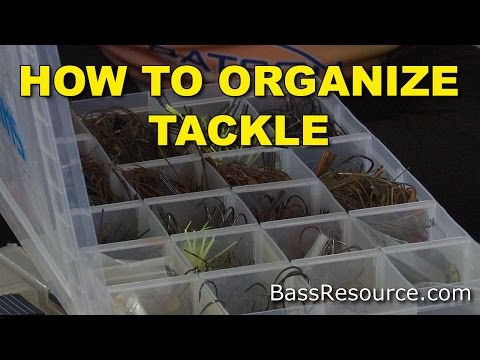 How To Organize Tackle | Terminal Fishing Tackle | Bass Fishing