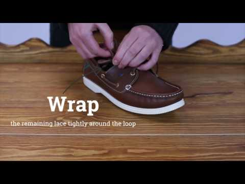 How to barrel knot your Dubarry deck shoe