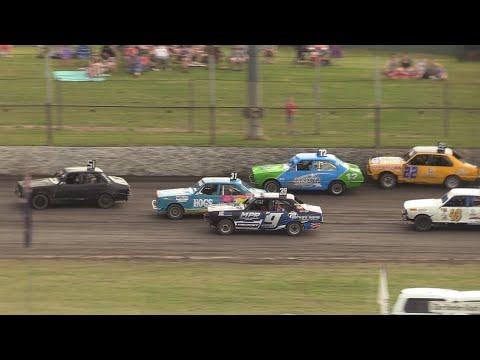 2016/17 National Junior Sedan Title (Night 1): Borderline Speedway   6th January 2017 - dirt track racing video image