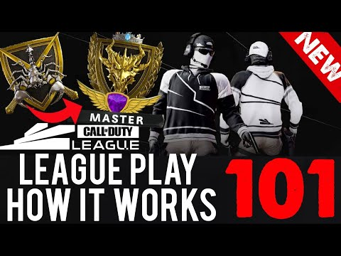 HOW LEAGUE PLAY WORKS in COLD WAR!