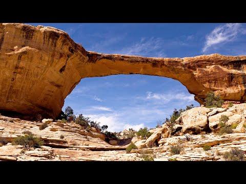 Natural Bridges National Monument, Utah, USA in 4K Ultra HD