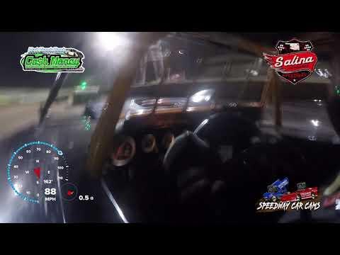 #5* John Briggs - Cash Money Late Model - 5-1-2021 Salina Highbanks - In Car Camera - dirt track racing video image