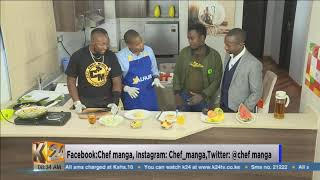 #HangOutFriday: Chips mayai served with shredded cabbage and fruit salad (PT2)