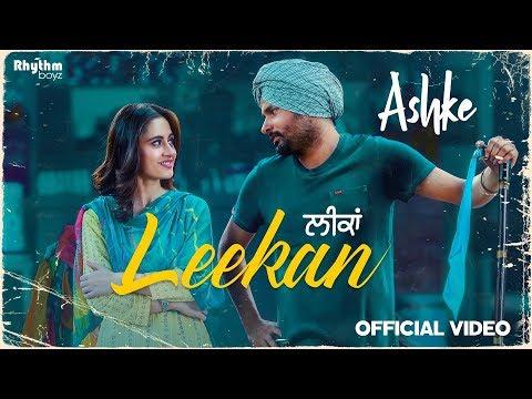 LEEKAN LYRICS - Amrinder Gill | Ashke Punjabi Movie Song 2018