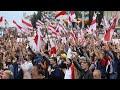 بيلاروسيا: عشرات آلاف المحتجين يتظاهرون مجددا في مينسك ضد الرئيس لوكاشنكو  - 20:58-2020 / 9 / 6