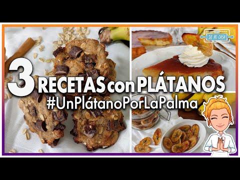 ?3 Recetas con Pla?tanos Fáciles y Deliciosas #UnPlátanoPorLaPalma ???