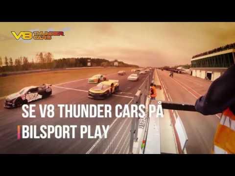 V8 Thunder Cars 2018 sänds gratis på Bilsport Play