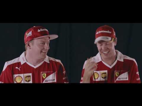 Raikkonen y Vettel, una carrera de trompetas