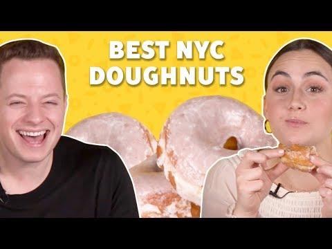 We Ranked the Best Doughnuts in NYC 🍩TASTE TEST