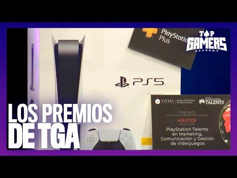 Los PREMIOS de TGA   TOP GAMERS ACADEMY
