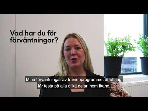 Lovisa Sjöstedt är trainee på Ikano Bostad