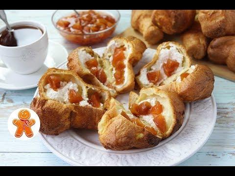 Булочки с Начинкой к Завтраку ✧ Поповеры ✧ Popovers