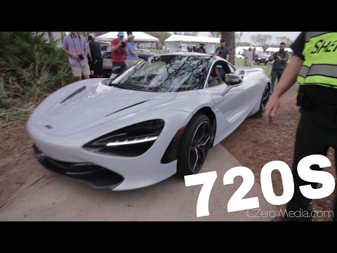 Sound Of McLaren 720S And $30 Million F1 LM On The Streets