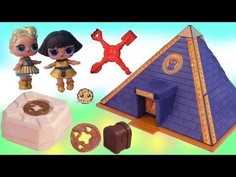 LOL Surprise Doll Treasure X Gold Dig At Pyramids ! Blind Bag Toy Video - UCelMeixAOTs2OQAAi9wU8-g