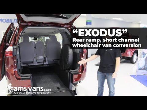 "Rear Entry Wheelchair Van Quick-look: Short Channel Able2Go ""Exodus"" Conversion | AMS Vans"