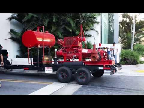 Sprinklermatic Temporary Fire Pump