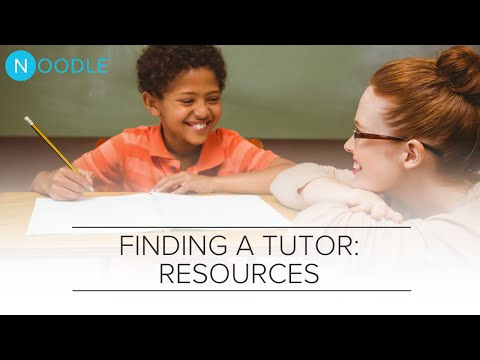 Find a Great Tutor: Resources | Noodle