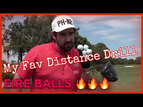My Favorite Drill for More Distance (Fire Balls)