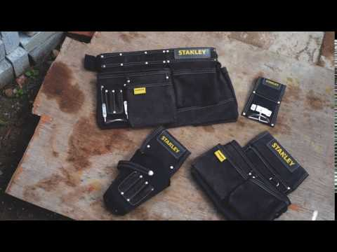 STANLEY® aprons, pouches and holsters.