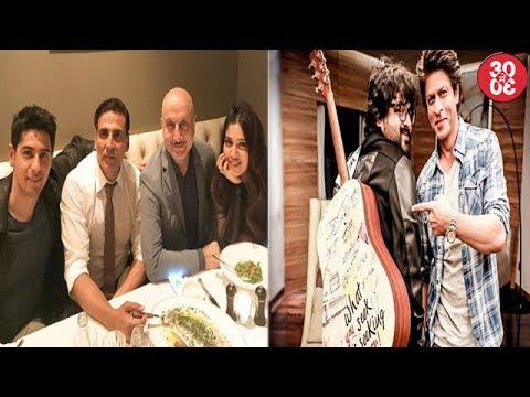 Sidharth Malhotra Shares A Click With Akshay Kumar   Shahrukh Khan Gifts Pritam A Guitar