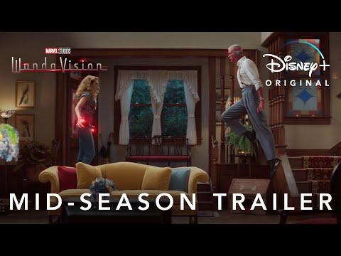 Mid-Season Trailer | Marvel Studios' WandaVision | Disney+