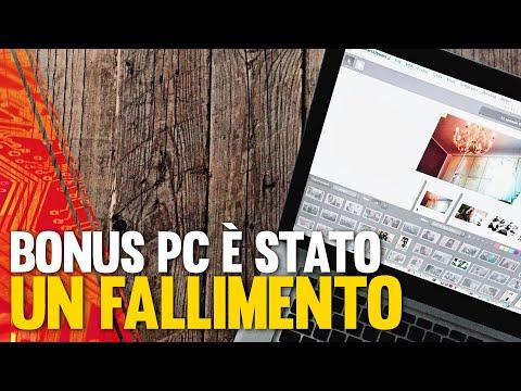 Il Bonus PC è stato un Fallimento!