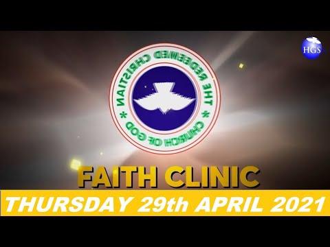 RCCG APRIL 29th 2021 FAITH CLINIC